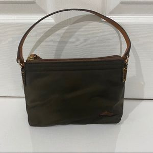 Dooney & Bourke Mini Nylon Bag Brown